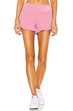 Nike NK Eclipse 3 Inch Short in Fire Pink & Reflective Silver