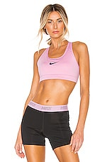 Nike Victory Padded Bra in Pink Rise