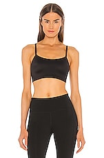 Nike Indy Luxe Sports Bra in Black & White