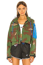 Nike x OFF-WHITE NRG As Jacket #27 AOP 2 in Palm Green