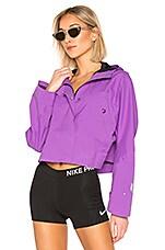 Nike Nikelab Crop Jacket in Bright Violet