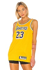 Nike Lakers Jersey in Yellow