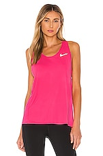 Nike City Sleek Tank in Digital Pink
