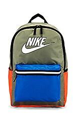 Nike NK Heritage Backpack in Jade Stone, Photo Blue & White