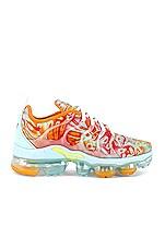 Nike Air Vapormax Plus Sneaker in Teal Tint, Ember Glow & Orange Peel