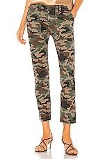 NILI LOTAN Jenna Pant in Coyote Brown Camouflage