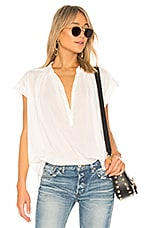 NILI LOTAN Normandy Blouse in Ivory