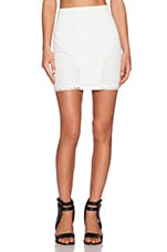 Hip and Bone Skirt in White