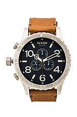MONTRE EN CUIR 51-30 CHRONO