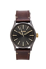 MONTRE SENTRY 38 LEATHER