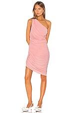 Norma Kamali Mini Diana Dress in Bubblegum
