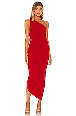 Norma Kamali Diana Gown in Red