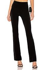 Norma Kamali Boot Pant in Black