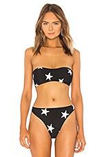 Norma Kamali Sunglass Bikini Top in Star