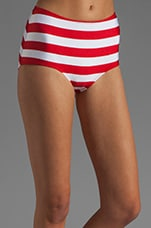 Boy Panty in Red/White Combo