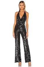 Nookie Fantasy Jumpsuit in Black