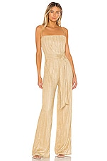 Nookie Mystery Jumpsuit in Gold