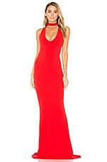 Nookie Diva Gown in Cherry