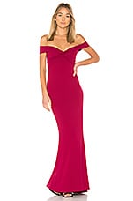 Nookie Dolly Gown in Ruby