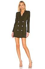 Nookie Milano Blazer Dress in Khaki