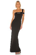 Nookie Alias Gown in Black