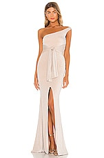 Nookie Luna Gown in Nude