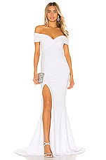 Nookie Neptune Gown in White