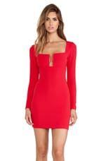 Stadium Winter Edition Dress in Red