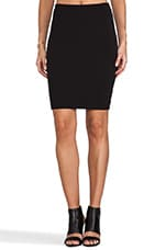 Stadium Pencil Skirt in Black