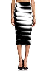 Maestro Pencil Skirt in Black