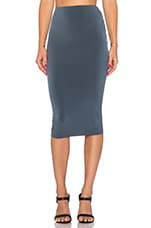 Dolce Vita Pencil Skirt in Charcoal