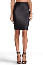 Easy Ryder Pencil Skirt in Black