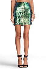 Galactica Mini Skirt in Hologram
