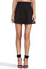 Misfits Skater Skirt in Black