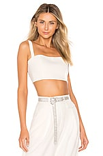 Nookie Milano Crop Top in White