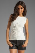 Arena Jersey Top in Ivory