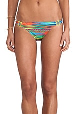 Sinaloa Stripe Charmer Bikini Bottoms in Multi