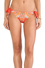 Mayan Riviera Vamp Bikini Bottoms in Red
