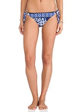 Saint Etienne Vamp String Bikini Bottoms in Navy