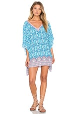 Seaside Tile Caftan en Imprimé