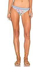 Greek Tiles Charmer Bikini Bottom in Multi
