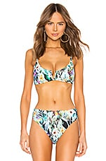 Nanette Lepore Enchantress Bikini Top in Multi