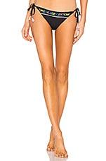 Nanette Lepore Vamp Bikini Bottom in Black