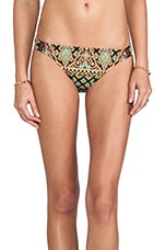 Moroccan Medallion Charmer Bikini Bottoms in Black