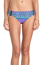 Moroccan Medallion Nymph Bikini Bottoms in Orchid