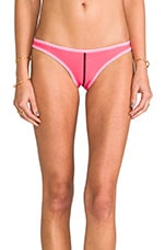 Seam Classic Cut Neoprene Bottom in Neon Pink