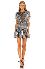 NONchalant Jade Mini Dress in Silver