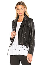 NOUR HAMMOUR Temple Jacket in Black