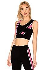 NO KA' OI Hele Sports Bra in Hot Pink