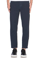 Aros Cropped Pant in Dark Navy